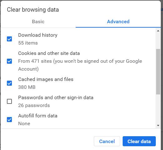 How to Clear Browser Cache and History for Google Chrome?